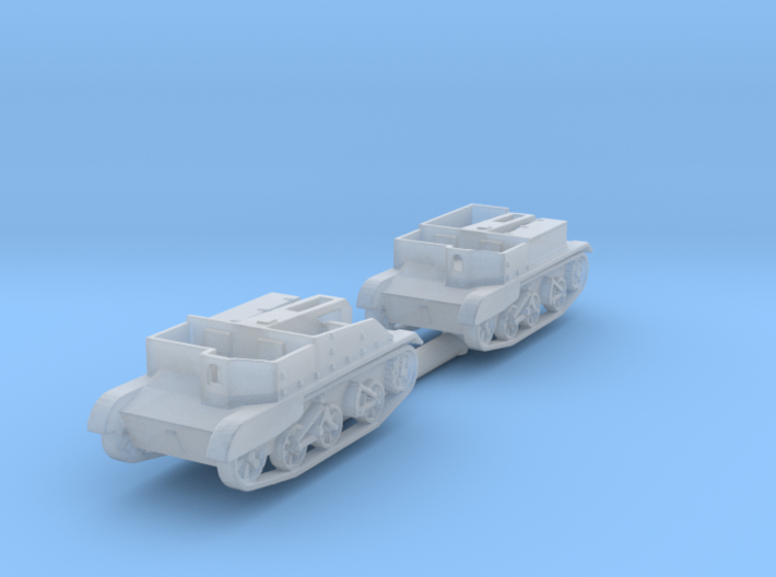 Scout and Bren Carrier 1:220 3d printed