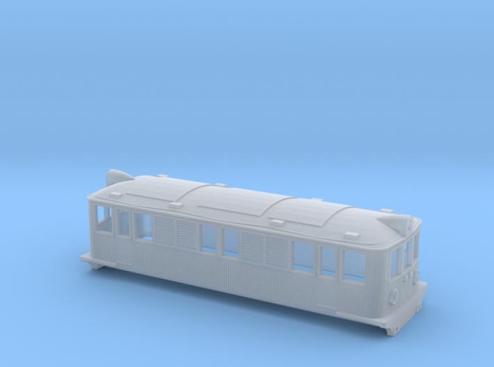 Swedish SJ electric locomotive type Od - N-scale 3d printed