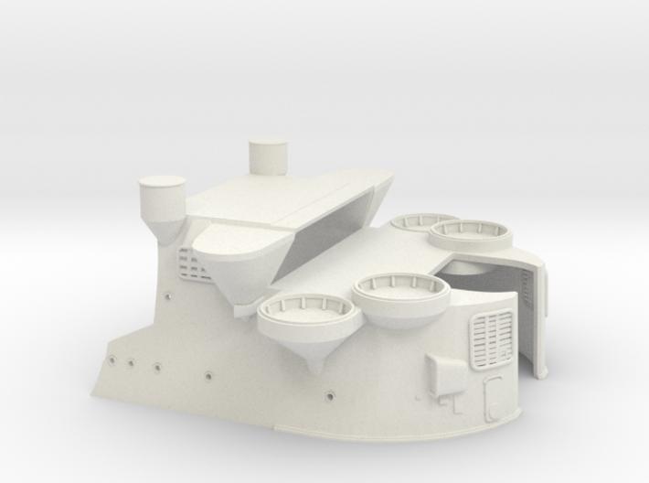 1/144 IJN Yamato Bridge Structure Part 2 3d printed