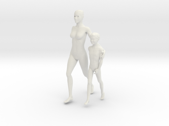Printle C Couple 217 - 1/24 - wob 3d printed
