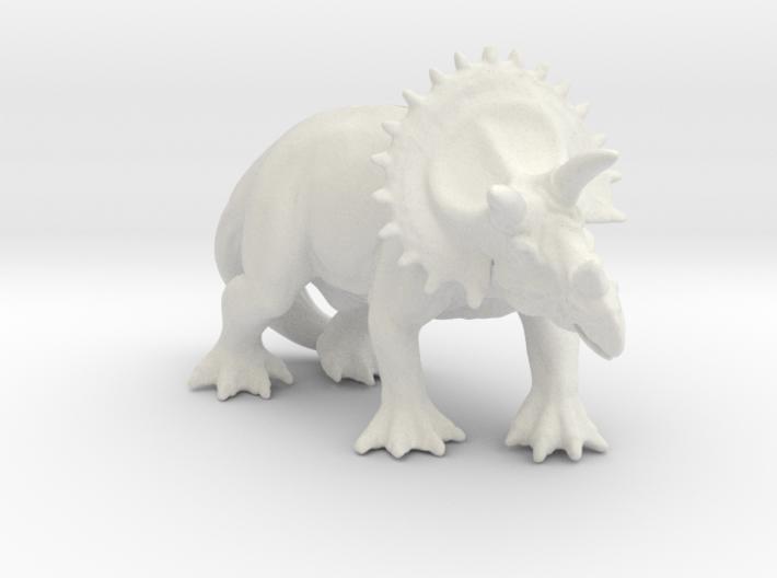 dinosaur Triceratops 3d printed