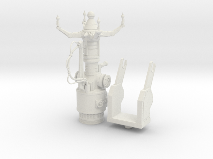 Space Orks Electro Tractor Cannon 3d printed