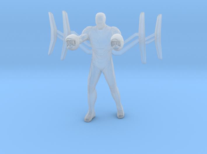 Iron man Mk50 Infinity War Nano Weapon Miniature 3d printed