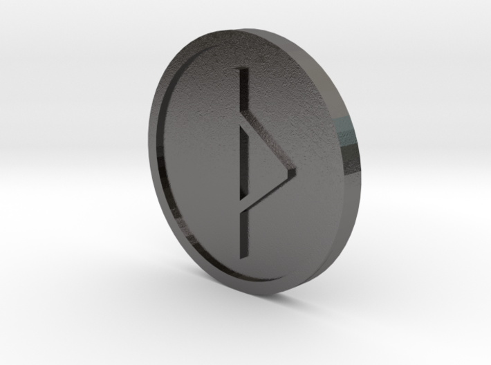 Thorn Coin (Anglo Saxon) 3d printed
