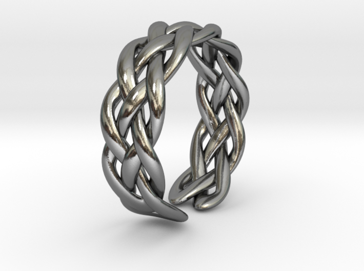 Celtic ring knot 3d printed