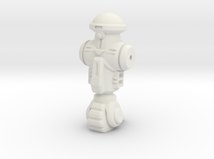 "Roadkill Roadney Figurine, NECA/6""-scale 3d printed"