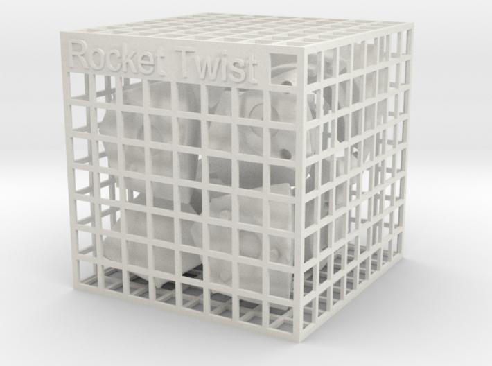 Rocket Twist 3d printed