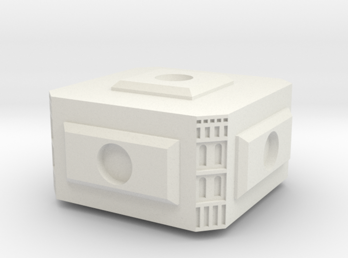 Modular Space Station Small Core Module 3d printed