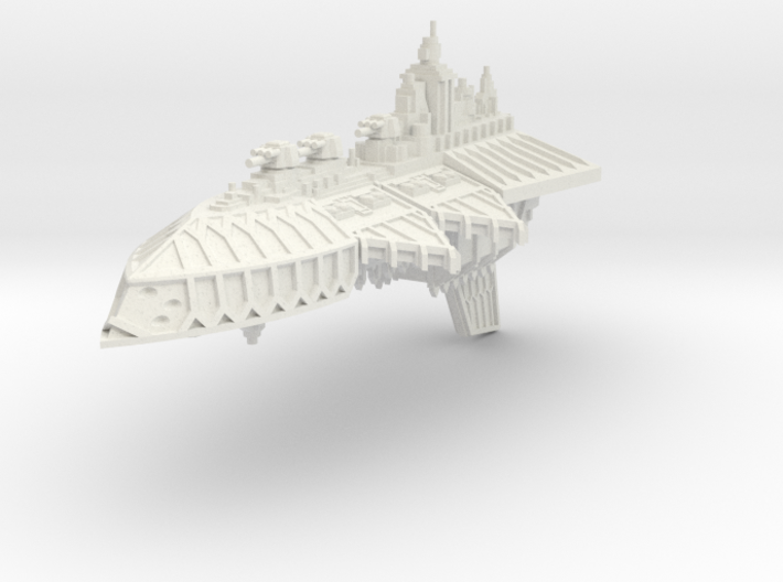 Gran Crucero de Renombre Iron Wolf 3d printed