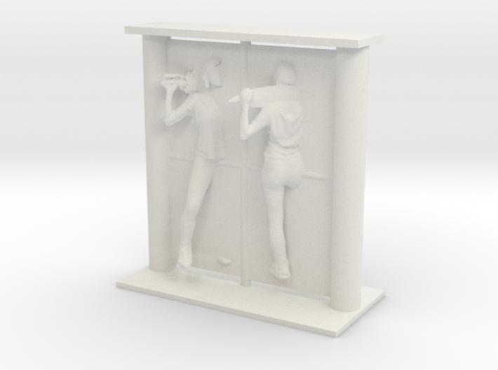 Cosmiton Visions Mirror - F001 - 1/24 3d printed