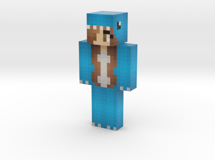 welcometochiIis | Minecraft toy 3d printed