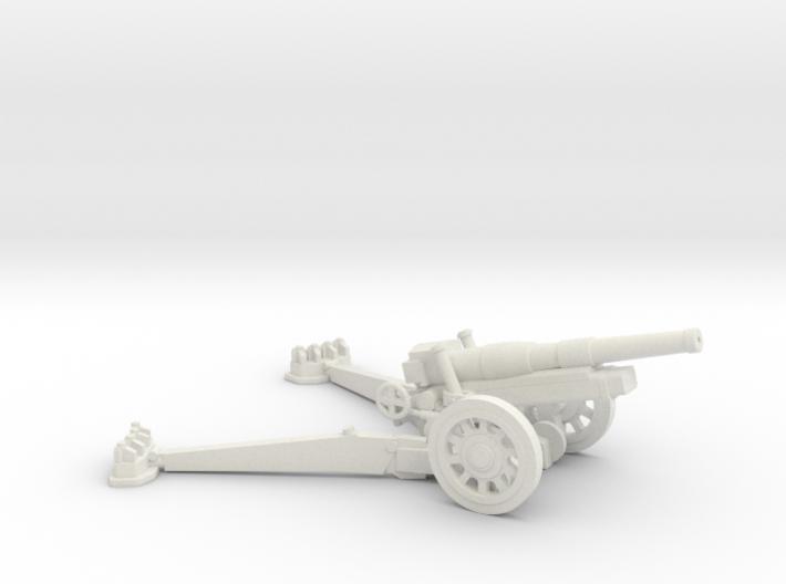 1/87 Obice da 149/19 149mm Howitzer 3d printed