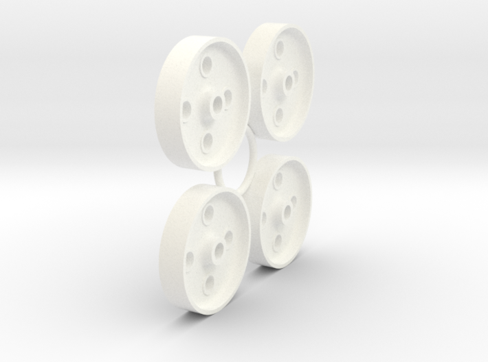 FR 4 Hole Wheel Centres (SM32) 3d printed