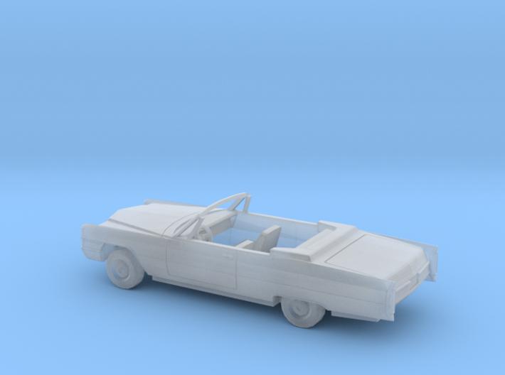 1/87 1965 Cadillac DeVille/Eldorado Convertible 3d printed