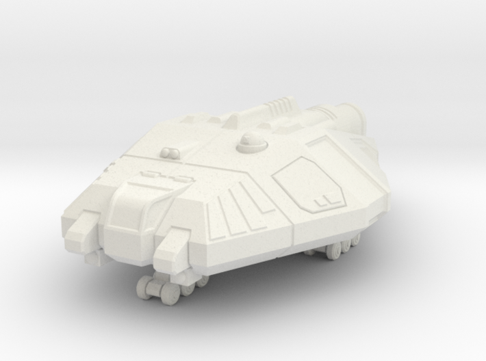 Fast Courier 3d printed