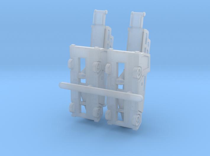 Orbiter7 rev1 Luggage Belt 8mm@1/400 3d printed