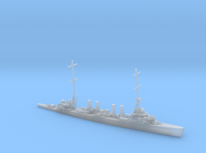 1/1250 Scale USS Omaha CL-4 1941 3d printed
