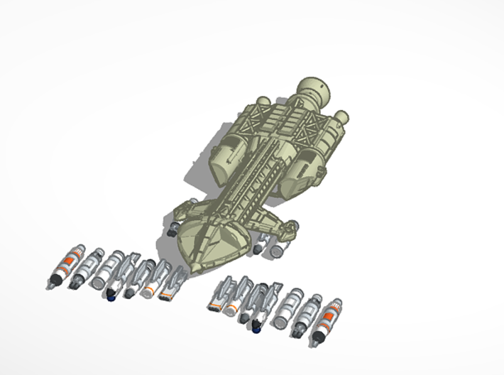 144 hawk weapons options 3d printed