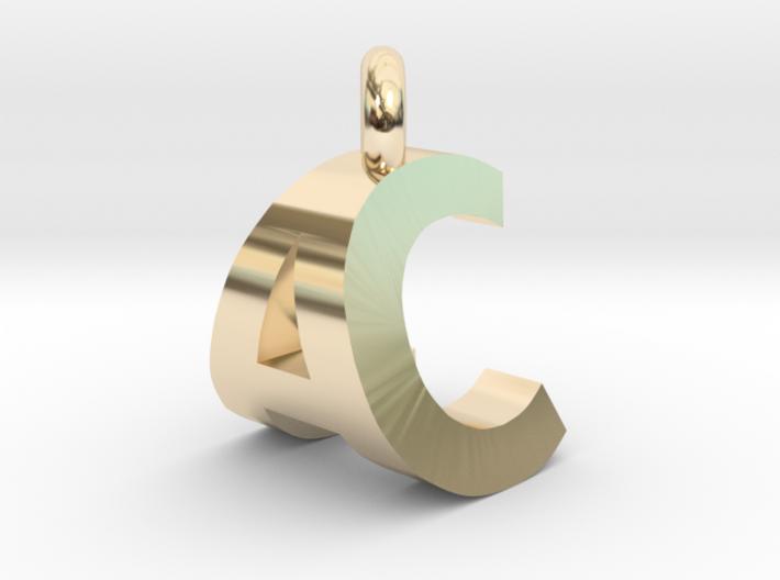 AC Pendant top 3d printed