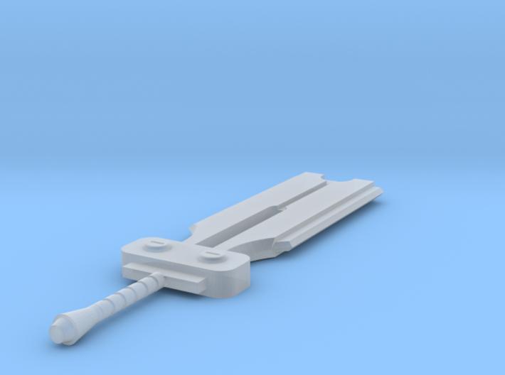 Miniature Elsword Knight Blade - 10cm 3d printed