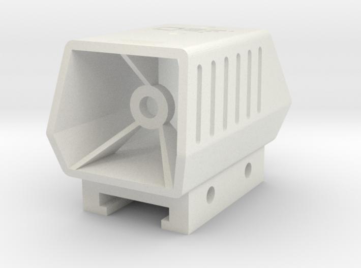 Phantom Scope for Nerf Tactical Rail 3d printed