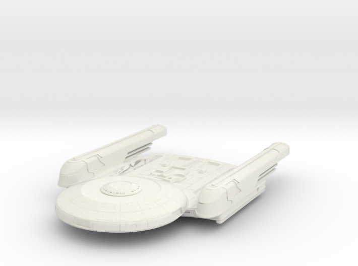 Oberth Class II LtScout 3d printed