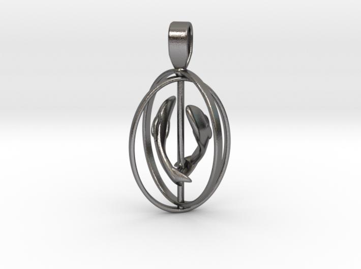 Pisces Birthsign pendant 3d printed
