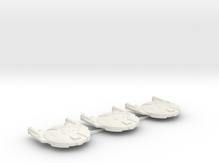 3125 Scale Andromedan Viper Frigates (3) SRZ 3d printed