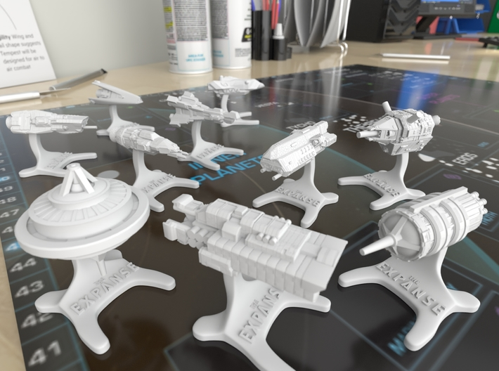 The Expanse Boardgame - Anubis [30mm] 3d printed