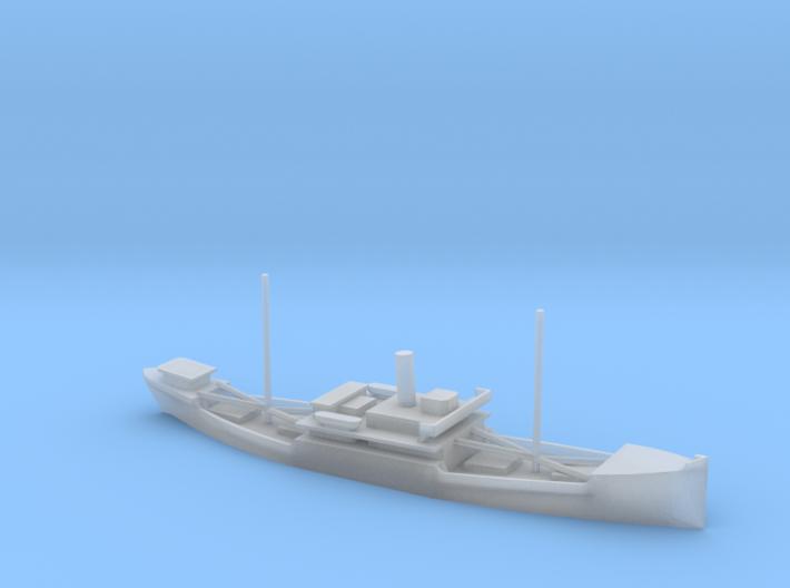 1/1250 Scale 4000 ton Wood Cargo Ship Clackamas 19 3d printed