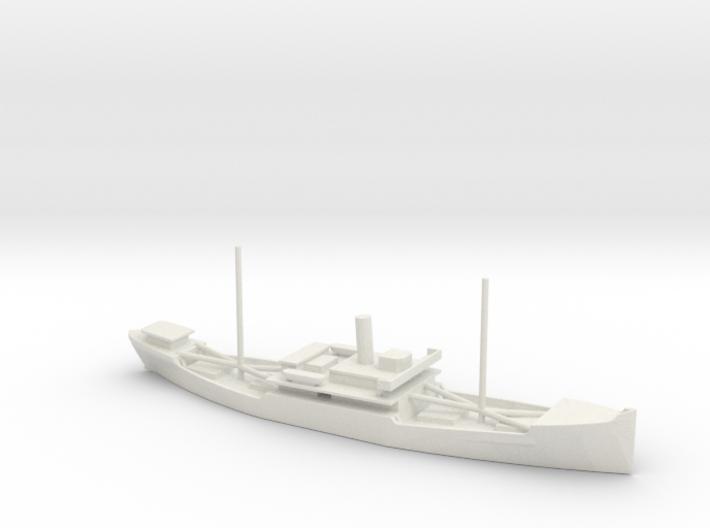1/700 Scale 4000 ton Wood Cargo Ship Clackamas 192 3d printed