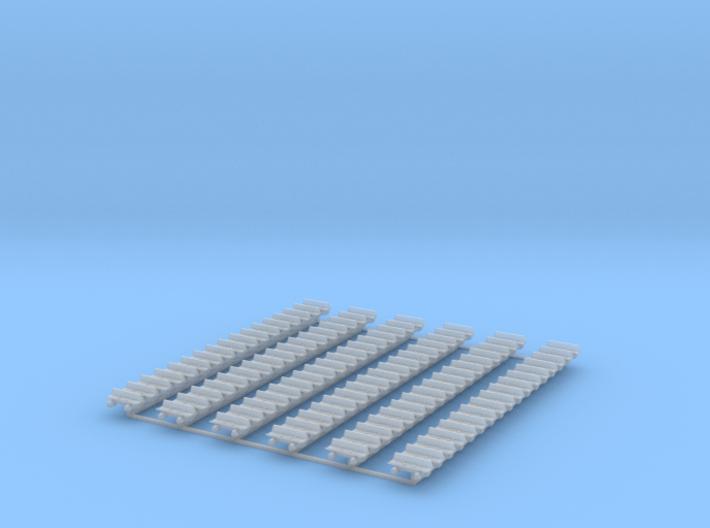 Kette 1 steg 610 mm Breite, Turasinnenbreite 6 mm 3d printed