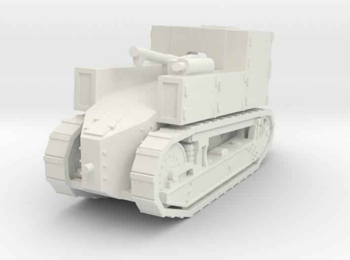 FT17 STA SPG 1918 1:72 3d printed
