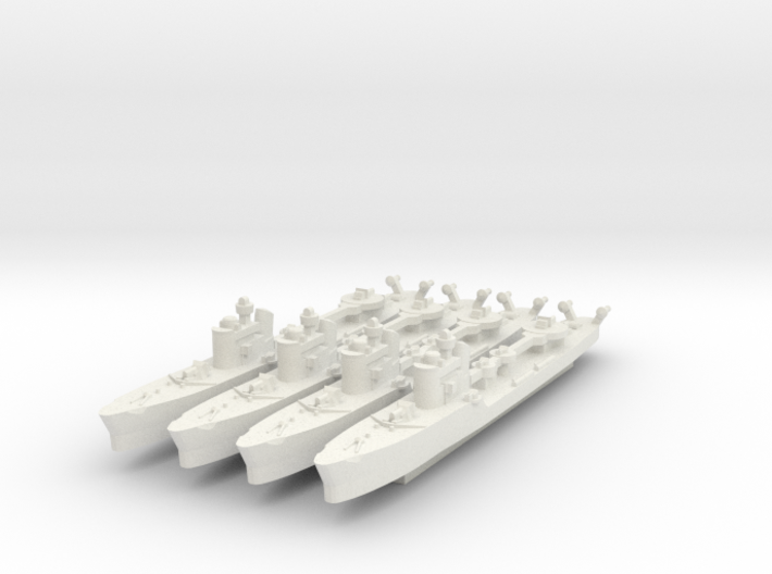 Spica 1:1800 x4 3d printed