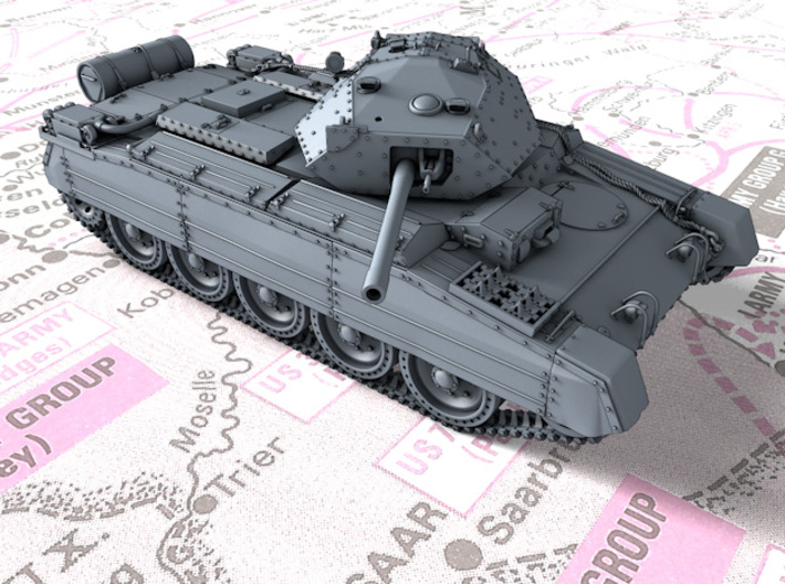 1/72 British Crusader Mk III Medium Tank 3d printed 1/72 British Crusader Mk III Medium Tank