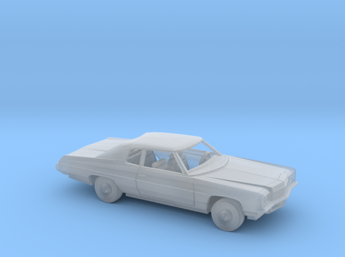 1/87 1971 Chevrolet Impala Custom Coupe Kit 3d printed