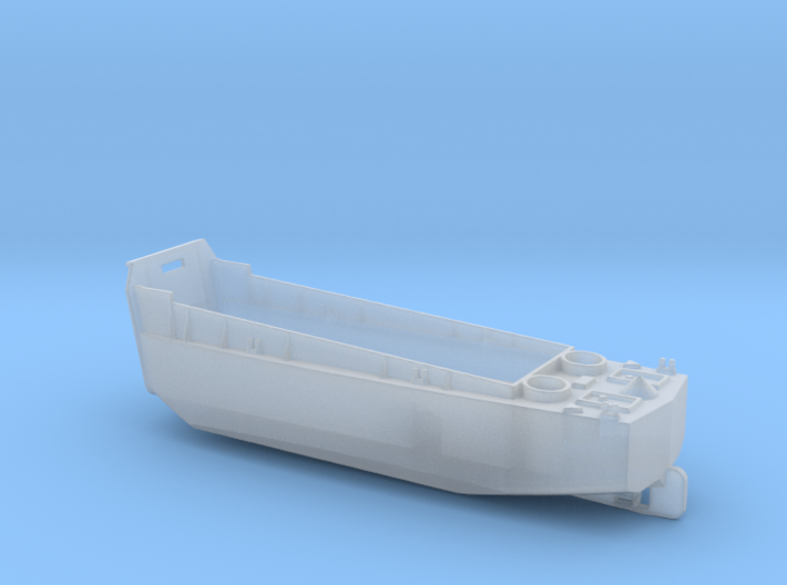 1/285 Scale WW2 to Vietnam River Boat LCVP 3d printed