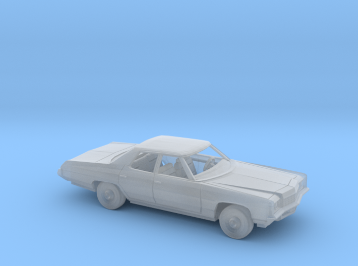 1/87 1971 Chevrolet Impala Sedan Kit 3d printed