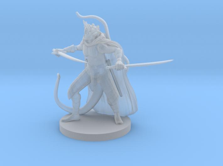 Tiefling Two Sword Ranger 3d printed