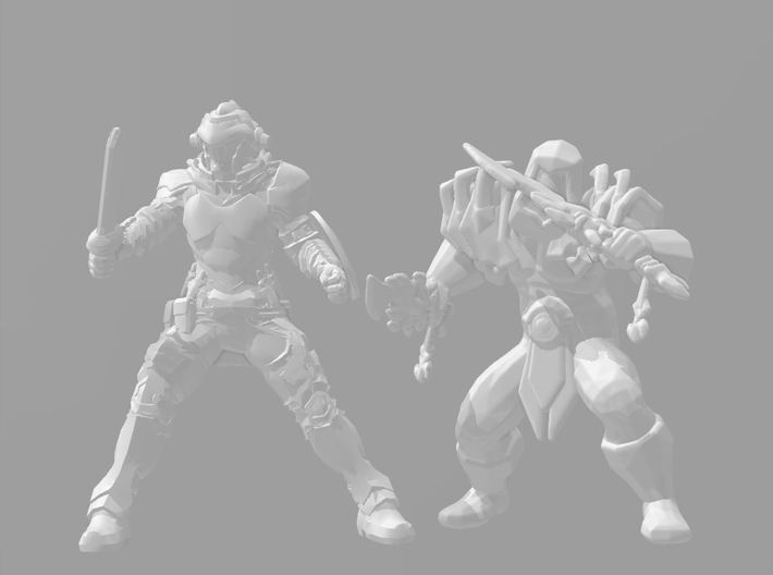 Rogue Assassin DnD 1/60 miniature for games - rpg 3d printed