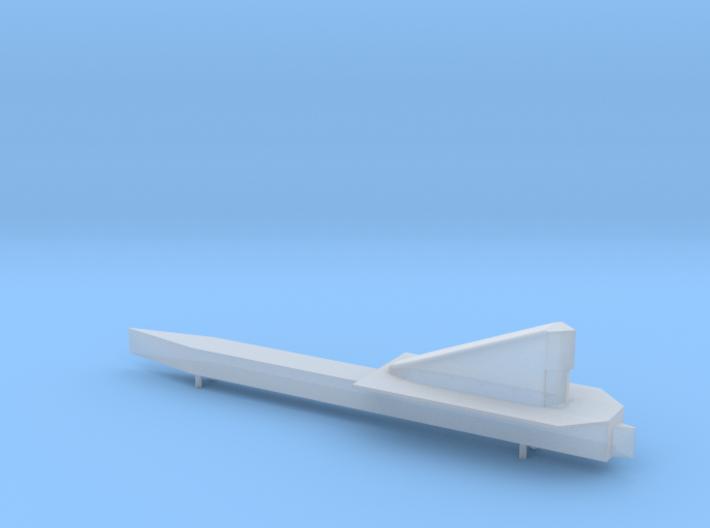NASA LASRE pod for 1:48 SR-71 model 3d printed