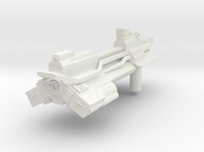 Burst Rifle 3d printed