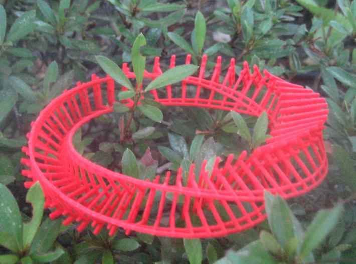 twisted torii gate loop 3d printed