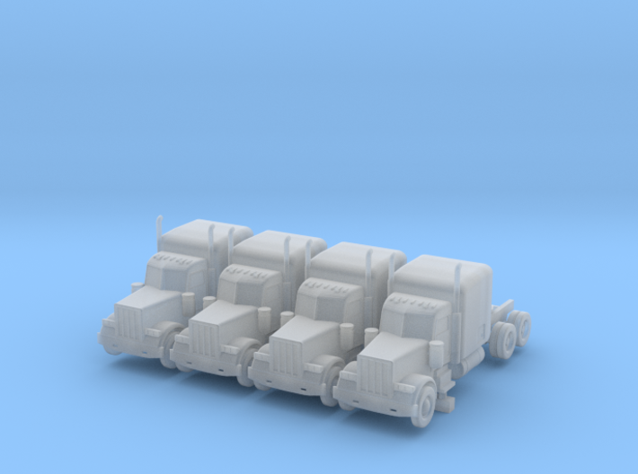 Peterbilt 379 Sleeper - Set - Z scale 3d printed
