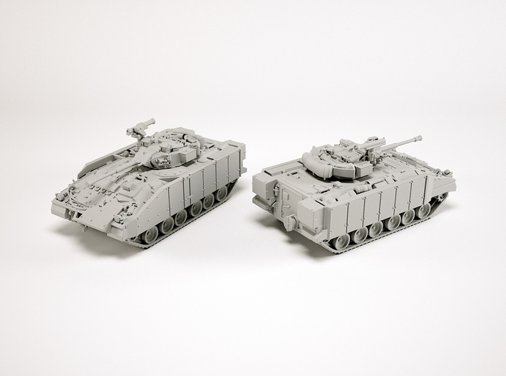 FV510 Warrior IFV Scale: 1:200 3d printed