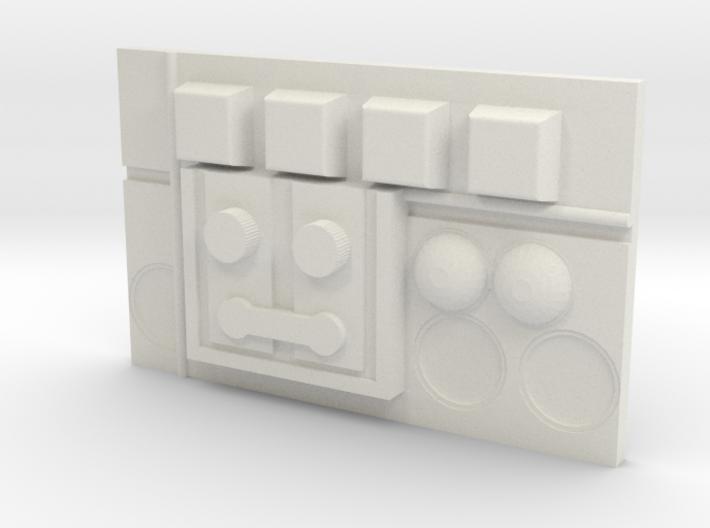 Hothbadge 3d printed