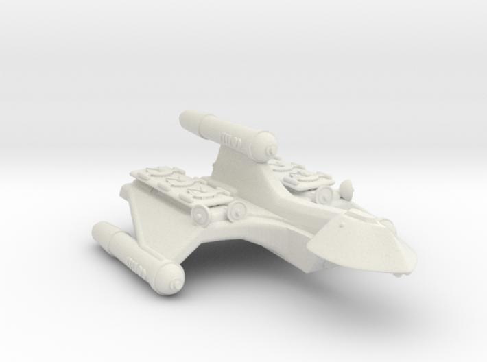 3788 Scale Romulan SparrowHawk Gunboat Tender+ 3d printed