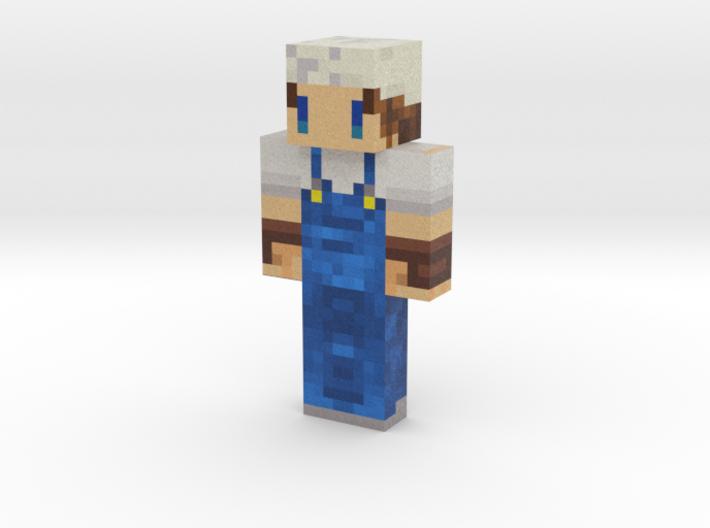 oyu_san   Minecraft toy 3d printed