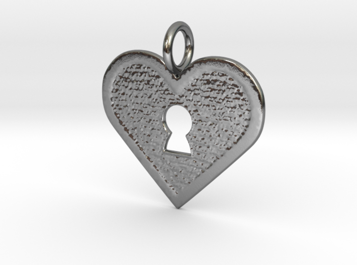 Key to my heart 3d printed