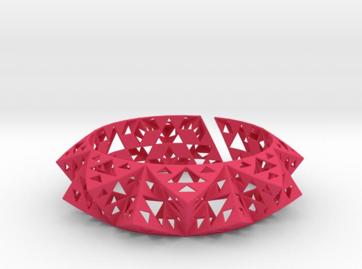 Sierpinski Bracelet 3d printed